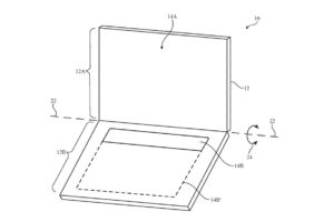 New Apple patent imagines an OLED screen as a keyboard for MacBooks