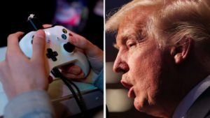 Twitter users mock Trump for linking video games to gun violence
