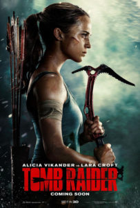 Alicia Vikander was thrown down an Olympic whitewater course 25 times without a life vest for Tomb Raider's biggest action scene