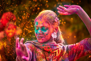 Travelled To North India To Record Some Special Holi Celebrations