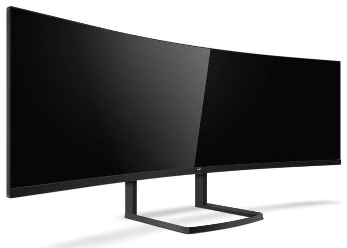 Philips Brilliance 49-inch 492P8 Curved Super-Wide LCD Display Announced