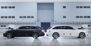 Audi : RS4 Ultimate Paintball