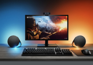 Logitech's RGB lighting-equipped G560 speakers are the PC gaming accessory you didn't know you needed