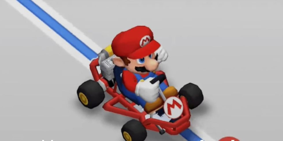 Google Maps now lets Super Mario drive you along your route on