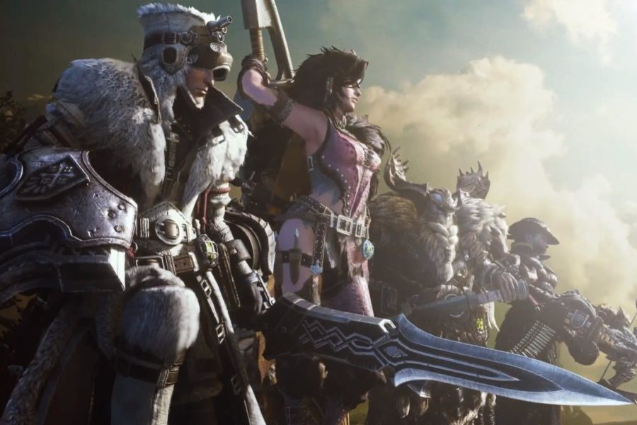 Monster Hunter: World G rank Iceborne expansion announced, and Geralt's coming too