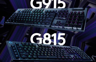 Logitech introduced gaming mechanics: G915 and G815 backlit keyboards
